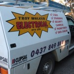 Vehicle signage Maryborough