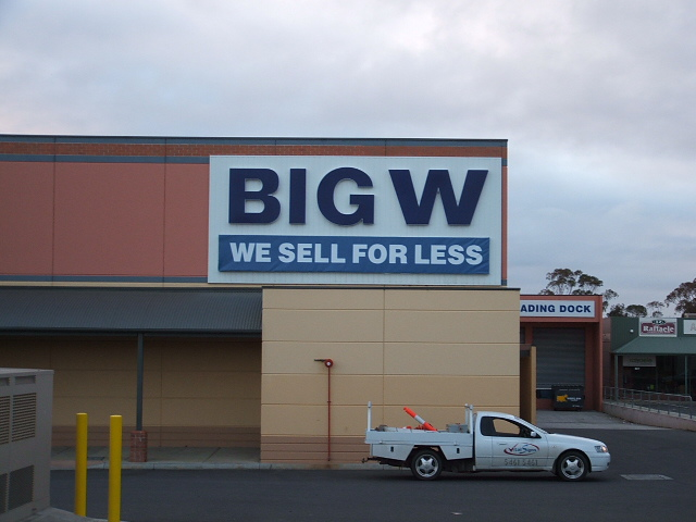 Commercial signage Maryborough