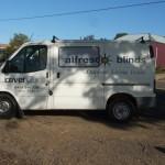 St Arnaud vehicle signwriting