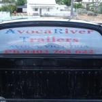 St Arnaud vehicle signage