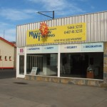 Shopfront signage Maryborough